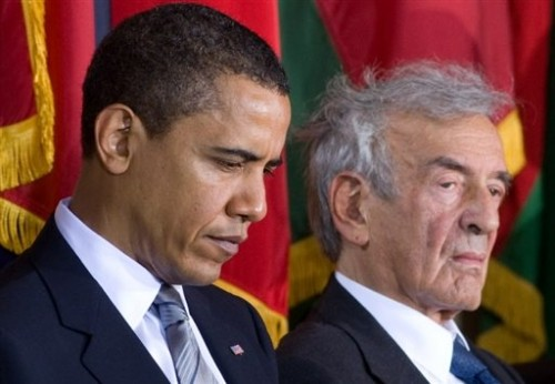 Elie Wiesel et Obama en avril 2009 à Washington.jpg