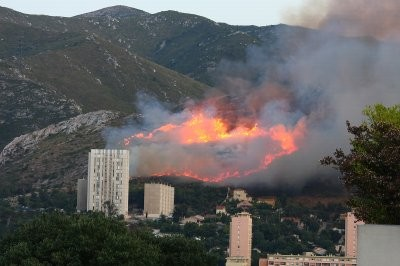 Feu dans les collines de Marseille- 13 juillet 2009.jpg