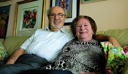 Herman Rosenblat et sa femme - Angel at the fence.jpg
