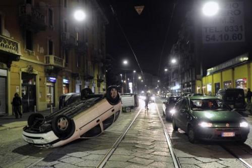 Milan émeutes 14 02 10.jpg