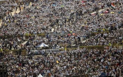 Pèlerins à Nazareth 14 mai 2009.jpg