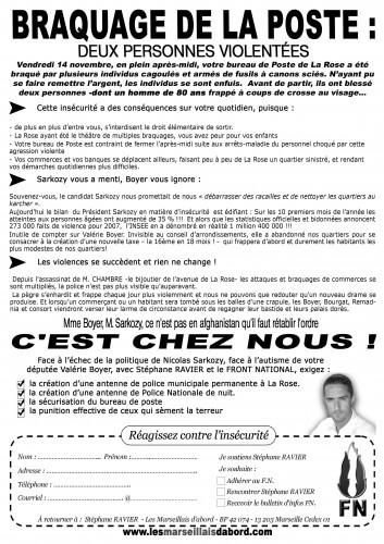 Stéphane Ravier - tract distribué.JPG
