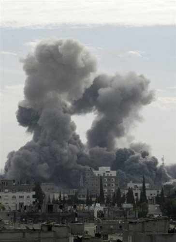Gaza fumées de frapes israélienes.jpg