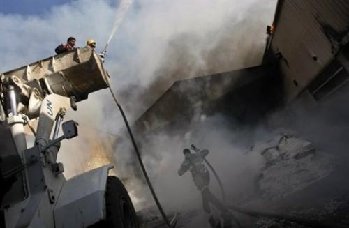GAZA bombardements bâtiments de l'ONU.jpg