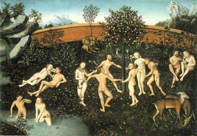 Une-utopie-LAge-dor-par-Cranach-lAncien-1530-Wikipedia-domaine-public.jpg