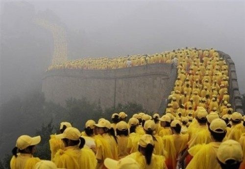 Chine Grande muraille - passage de la flamme.jpg
