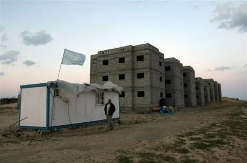 GAZA bâtiments pour réfugiés 22 mars 09.jpg