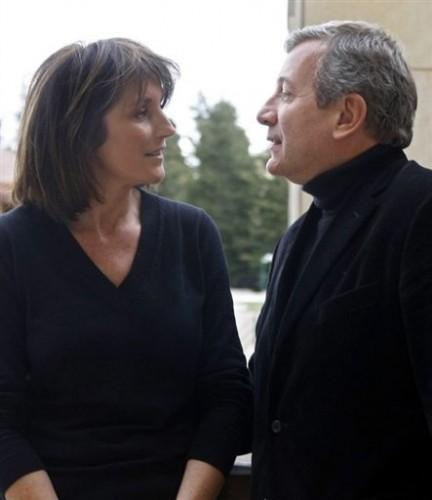 Cécilia ert richard Atttias à Beyrouth le 28 janv 09.jpg