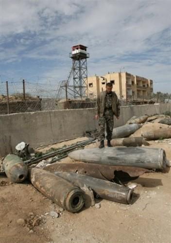 Obus isr non explosés à Rafah.jpg