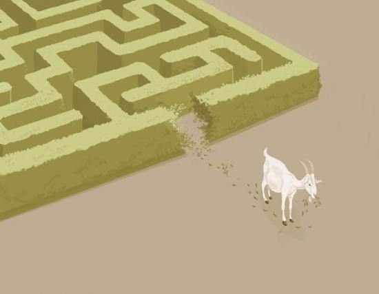 Une-chevre-dans-un-labyrinthe.jpg