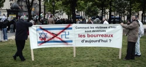Manifestation de gauche contre Lieberman 5 mai 2009.jpg
