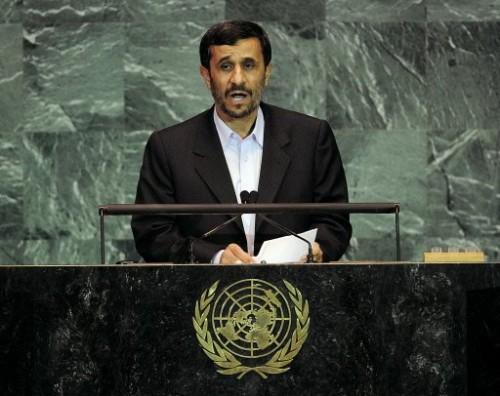 Ahmadinejad le 23 sept 09 Discours à l'ONU.jpg