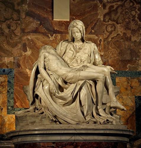 Pietà Michelangelo%27s_Pieta_5450_cropncleaned.jpg