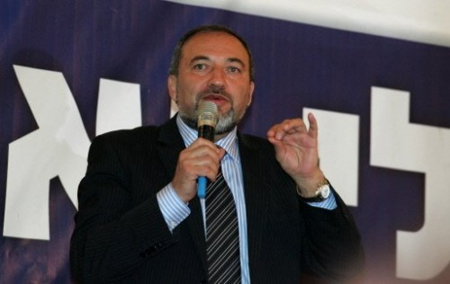 Avigdor Lieberman ministre des aff étrangères Israêl 7 avril 09.jpg