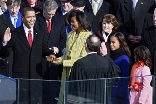 Prestation de serment le 20 janvier 09 - Obama.jpg