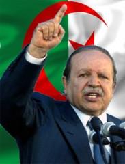 Algerie Bouteflika drapeau 10.12.09.jpg