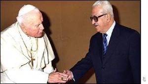 Tarek Aziz et le pape.jpg