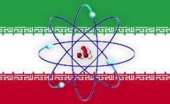 Iran nucléaire drapeau.jpg