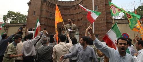 Ambaade de france à Téhéran 15 juin 09.jpg