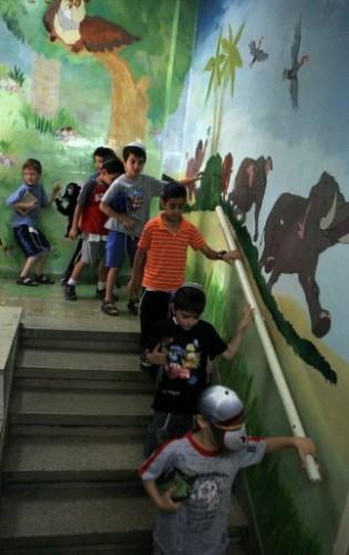 Evacuation d'une école à Jérusalem le 2 juin 2009.jpg