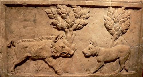 Frise romaine sanglier et chien.jpg