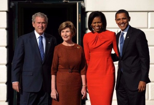 Bush obama et leurs femmes.jpg