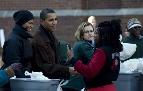 Obama Noël Chicago école.jpg