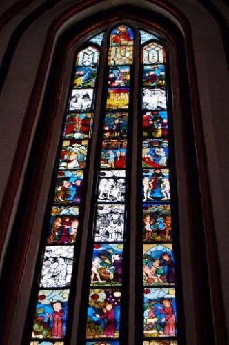 Marienkirche Francfort sur oder - 17 nov 08 vitrail.jpg
