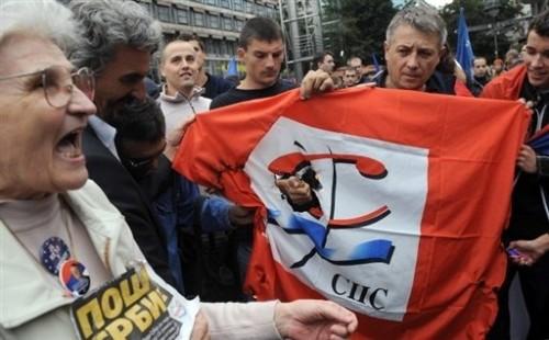 Belgrade soutien à Radovan Karadzic.jpg