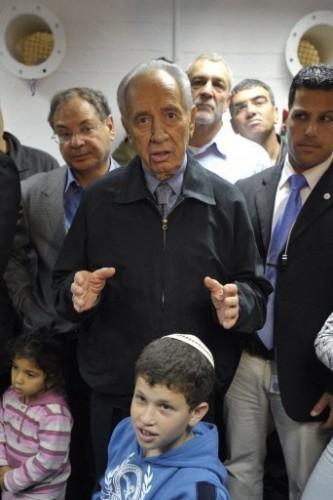 Gaza - Askelon Shimon Peres le 31 décembre 08.jpg